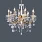 Ljuskronor ,  Modern Elektropläterad Särdrag for stearinljus stil Metall Vardagsrum Sovrum Dining Room