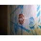 lindo cúbico zirconia banhado a ouro 18k coração anel moda ligação