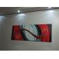 HANDMÅLAD Abstrakt Fyra paneler Kanvas Hang målad oljemålning For Hem-dekoration