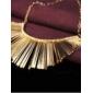 Collar de Oro de corto borla