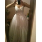 Lanting Bride® A-linje / Prinsesse Petit / Plus Størrelser Brudekjole - Chic og moderne / Elegant og luksuriøs To-I-En Bryllupskjoler