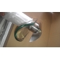 Contemporary Waterfall Bathroom Sink Faucet - Nickel Brushed Finish with Drain