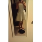 PERMINE - Vestido de Novia de Organza y Satén