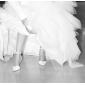 calitate de top satin toc înalt superioară închis-degetele de la picioare cu dantelă pantofi de mireasa de nunta