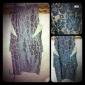 TS Colored Lace Peplum Dress