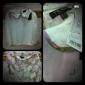 TS Vintage Pan Collar Flower Printed Blouse and Skirt Set