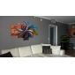 HANDMÅLAD AbstraktModerna / Traditionellt Fem paneler Kanvas Hang målad oljemålning For Hem-dekoration