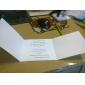 simpla invitatie de nunta relief tri-ori (set de 50)