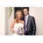 scheint tschechisch Strass-Legierung überzogen Hochzeit Brautschmuck Set, einschließlich Kette und Ohrringe
