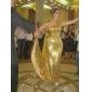 Formeller Abend Kleid - Strahlend & Funkelnd / Elegant Trompete / Meerjungfrau Ein/Schulter Pinsel Schleppe Pailletten mit Pailletten