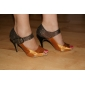 Customized Women's Satin With Sparkling Glitter Latin / Ballroom Dance Performance Shoes (More Colors)