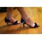 Satin Upper Dance Shoes Ballroom Latin Shoes for Women
