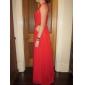 Formal Evening/Military Ball Dress - Ruby Plus Sizes Sheath/Column Sweetheart Floor-length Chiffon