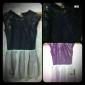 TS Sequin Layered Ruffle Dress