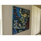 HANDMÅLAD Känd Sträckt Canvastryck,Moderna Traditionellt Europeisk Stil En panel Kanvas Målning For Hem-dekoration