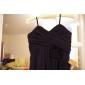 Floor-length Chiffon Junior Bridesmaid Dress - Watermelon Sheath/Column Sweetheart/Spaghetti Straps