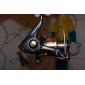 Moulinet pour pêche Moulinet spinnerbaits 5.1:1 11 Roulements à billes Gaucher Pêche en mer / Pêche aux spinnerbaits / Pêche d'eau douce
