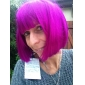 Capless bob stil syntetisk parti peruk-sju färger