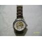 SHENHUA Bărbați Ceas de Mână ceas mecanic Gravură scobită Mecanism automat Oțel inoxidabil Bandă Argint