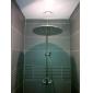 20 pouces tête de douche en acier inoxydable avec des couleurs de lumière LED changeant