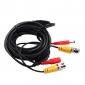 30 meter eller 98 fot) BNC video och kraft 12V DC integrerad kabel