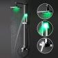Sprinkle® - von lightinthebox - Farbwechsel LED Dusche Wasserhahn mit 8-Zoll-Duschkopf + Handbrause