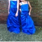 ZAIDA - kjole til junior brudepige i satin
