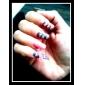 3D Bowknot Style Resinic Diamonds Nail Art Nail Decorations Suit