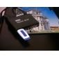 hd mini-jogador multi-media com controle remoto, saída HDMI