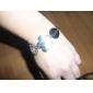 Personlig Armband Herr/Dam Strass Legering/Läder