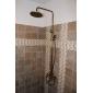 strö ® av LightInTheBox - antik mässing badkar duschblandare med 8 tums duschmunstycke + handdusch