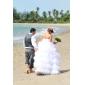 Lanting Bride® Robe de Soirée Petites Tailles / Grandes Tailles Robe de Mariage - Classique & Intemporel / Brillant & SéduisantTraîne