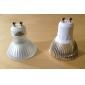 Spot Blanc Chaud MR16 E14 / E26/E27 / GU10 W 3 LED Haute Puissance 270 LM AC 85-265 V