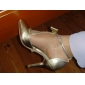 Leather Upper High Heels Closed-toes with Bowknot Fashion Shoe (0985-HG69)