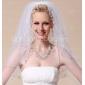trei niveluri degetului voaluri de nunta margine cu margele