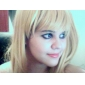 Cosplay Peruker Fairy Tail Lucy Heartfilia Guld Medium / Rak Animé Cosplay Peruker 60 CM Värmebeständigt Fiber Kvinna