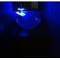 strö ® av LightInTheBox - färgskiftande ledde vattenfall badrum handfat kran (krom)