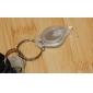 White Flashlight Keychain 22000mcd