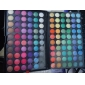 120 farver professionel blændende matte & shimmer 3i1 øjenskygge makeup kosmetiske palet