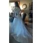 NYX - kjole til brudekjoler i satin Med sjal