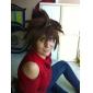 Cosplay Peruker Kingdom Hearts Sora Brun Kort Animé/ Videospel Cosplay Peruker 30 CM Värmebeständigt Fiber Man