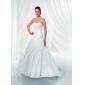 Lanting невесты-Line / Princess миниатюрная / плюс размеры свадебное платье Часовня поезд без бретелек