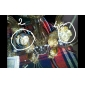 CUMBERNAULD - Lustre Cristal com 6 Lâmpadas