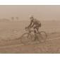cykel sadelstolpe med 6061 al-legering 27,2 * 350mm storlek med vit målning färg