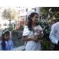 Satin With Rhinestone Clasp Bridal Wedding/ Special Occasion Shawl