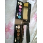 5 Colors Eye Shadow Palette with Free Brush