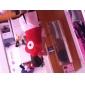 Inspirerad av Naruto Sakura Haruno Animé Cosplay Kostymer/Dräkter cosplay Suits Lappverk Röd ÄrmlösKappa / Kjol / Shorts / Armbindel /