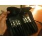 flambant neufs 7 pcs mini-fibre synthétique kit de démarrage pinceau de maquillage