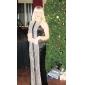 trubka / mořská víla šperk podlaha-délka Saténové flitry večerní šaty inspirované Judy Greer