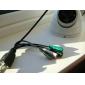 2.0 megapíxeles HD cámara resistente al agua de red IP de interior (h.264, de corte IR), p2p, sensor de Sony, gran angular, ONVIF apoyo